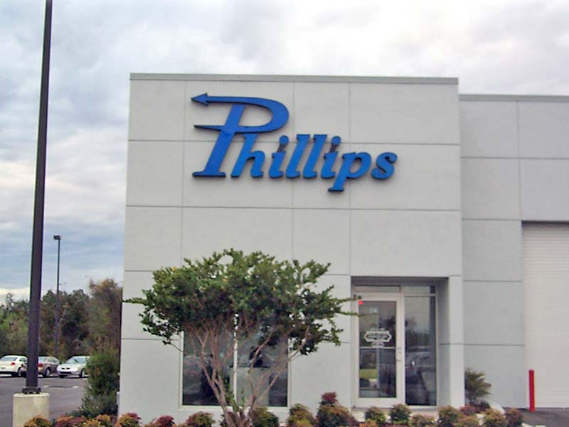 Phillips Channel Letter Sign