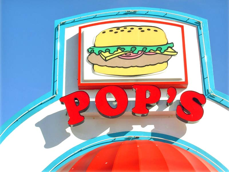 Pop's Burgers Pastrami | Fries | Shakes